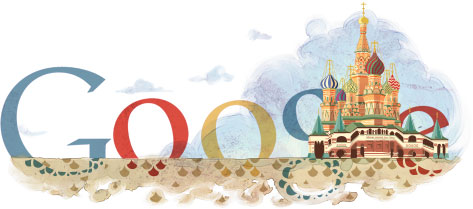 Doodle Google : Cathédrale Saint Basile