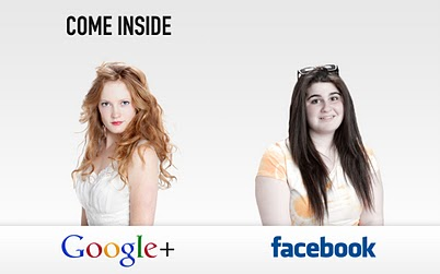Google Plus : Come inside