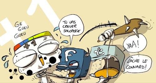 Guerre des médias sociaux