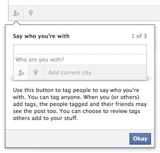 Facebook : Statut - Personnes