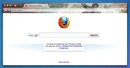 Firefox Australis Mac Persona