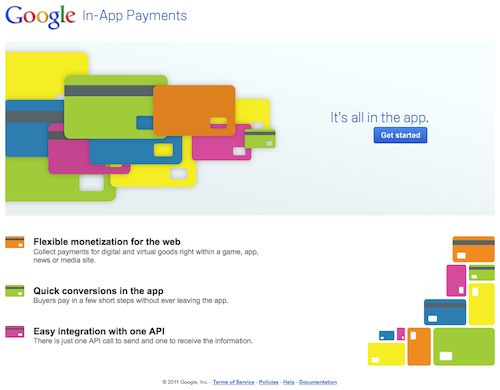 Google In-App Payments