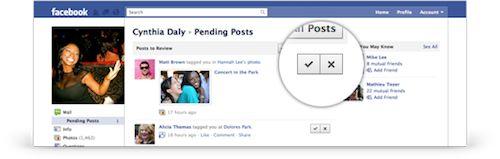 Facebook : Examen du profil