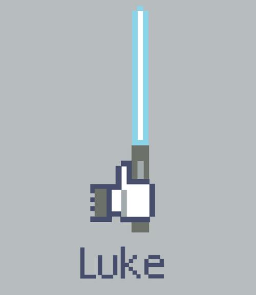 Facebook : Like vs Luke