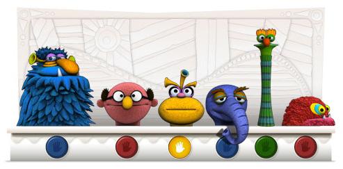 Google : Doodle Jim Henson - Muppet Show