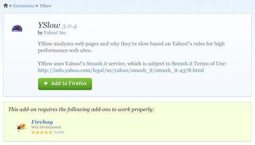 Firefox : Dépendances des modules complémentaires
