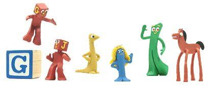 Google : Doodle Art Clokey - Bonhommes en pâte à modeler