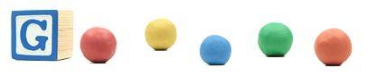 Google : Doodle Art Clokey - Boules en pâte à modeler