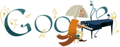 Google : Doodle Franz Liszt