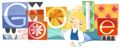 Google : Doodle Mary Blair