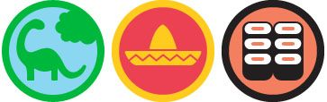 Foursquare : Badges Herbivore, Hot Tamale et Bentoo