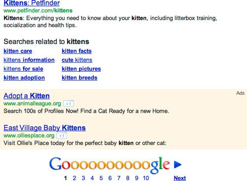 Google Adwords : Annonce en bas