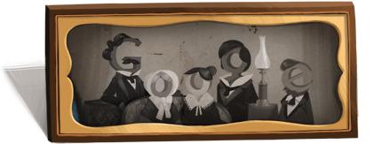 Google : Doodle Louis Daguerre