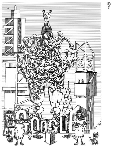 Google : Fin du doodle Stanislas Lem
