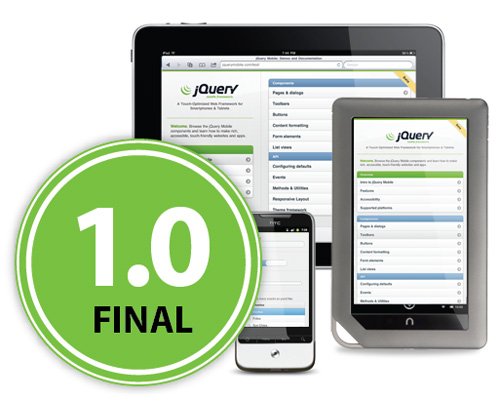 jQuery Mobile 1.0