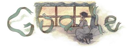 Google : Doodle Gustave Flaubert