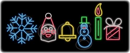 Google : Doodle Joyeuses Fêtes 2011