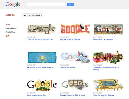 Google : Doodles
