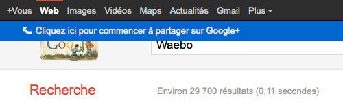 Google : Promotion et erreur dans l'interface utilisateur