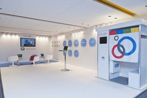 GooglePlex Paris : Locaux - Thème Google Plus