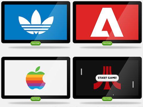 CSS3 logos