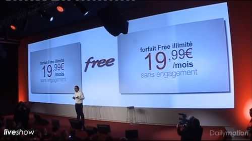 Free Mobile : Offre idéale (19,99 euros)