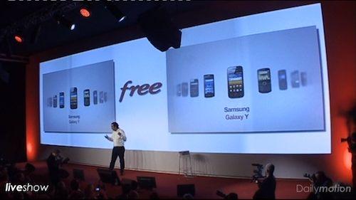 Free Mobile : Téléphone portable